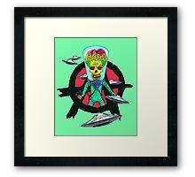 The Martian Misfit Framed Print