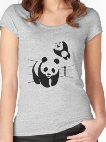 WWF takedown Women's Fitted Scoop T-Shirt