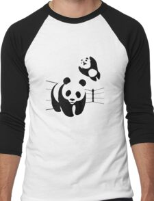WWF takedown Men's Baseball ¾ T-Shirt