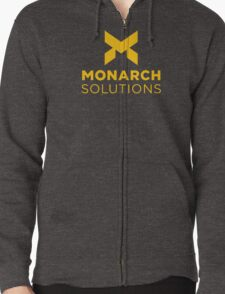 Monarch Solutions - Quantum Break Zipped Hoodie