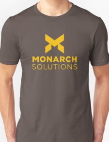 Monarch Solutions - Quantum Break Unisex T-Shirt