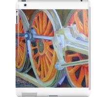 train wheel iPad Case/Skin