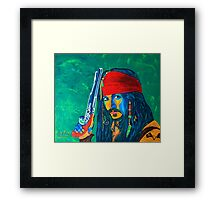 Pirat Framed Print