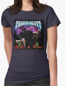 TRAVIS SCOTT - RODEO TOUR [4K] Womens Fitted T-Shirt