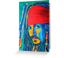 Pirat Greeting Card