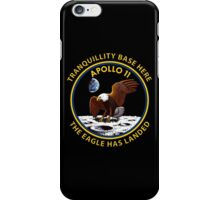 Apollo 11 Insignia iPhone Case/Skin