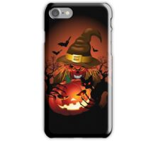 Skull Witch Creepy Halloween iPhone Case/Skin