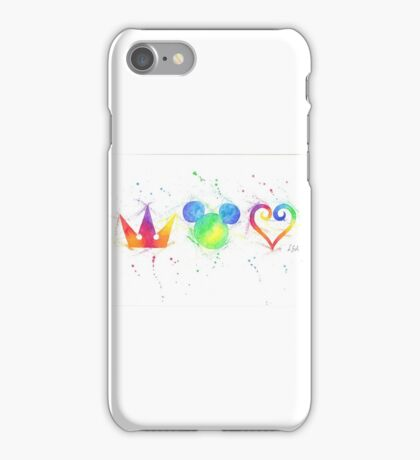 """""""The Heart, the King and the Crown"""" iPhone Case/Skin"""