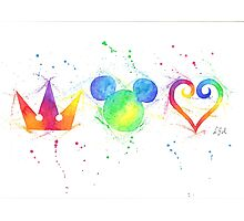 """""""The Heart, the King and the Crown"""" Photographic Print"""