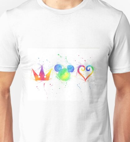 """The Heart, the King and the Crown"" Unisex T-Shirt"