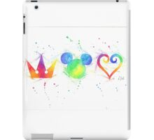 """""""The Heart, the King and the Crown"""" iPad Case/Skin"""