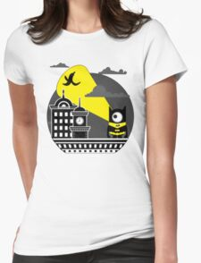 Bat-Banana Womens Fitted T-Shirt