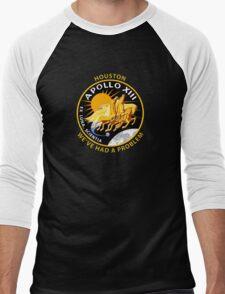 Nasa's Apollo 13 Insignia. Men's Baseball ¾ T-Shirt