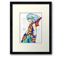 """""""The Darkness' chamber"""" Framed Print"""