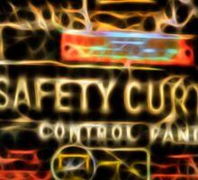 Safety Curtain Sticker