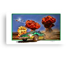 Death Race 2000 Canvas Print