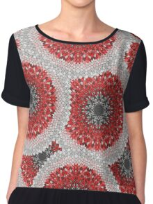 Psychedelic ornament Chiffon Top