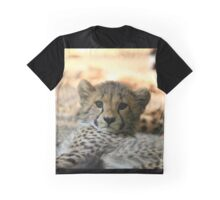 Baby Cheetah Graphic T-Shirt