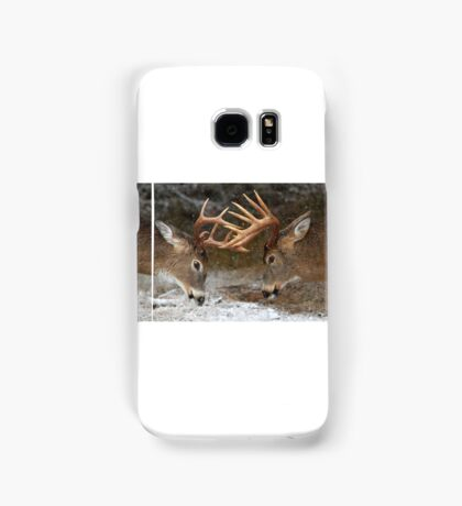 Clash of the Titans - White-tailed deer Samsung Galaxy Case/Skin