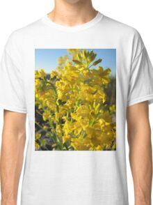Yellow flower power  Classic T-Shirt