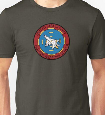 United States Navy Fighter Weapons School Top Gun Unisex T-Shirt