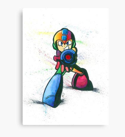 """Mega Shooter"" Canvas Print"