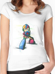 """Mega Shooter"" Women's Fitted Scoop T-Shirt"
