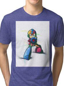 """""""Mega Shooter"""" Tri-blend T-Shirt"""