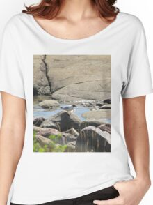 Gull on stone live somewhat Women's Relaxed Fit T-Shirt