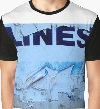 LINES.... Graphic T-Shirt