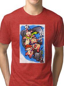 3 Little Pigs Tri-blend T-Shirt