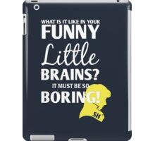 Sherlock Funny Little Brains iPad Case/Skin