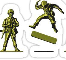 Khaki Kickflip Sticker