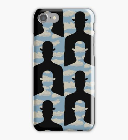 """after Rene Magritte pattern """"Decalcomania"""" iPhone Case/Skin"""