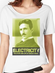 Electricity Nikola Tesla Women's Relaxed Fit T-Shirt