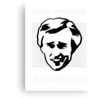 Alan Partridge - Smell My Cheese Canvas Print