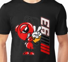 Marc marquez, Motogp champion, ant and MM93 logo Unisex T-Shirt