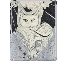 Kitty problems iPad Case/Skin
