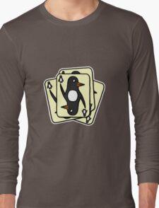 Shuffling Penguins [Big] Long Sleeve T-Shirt