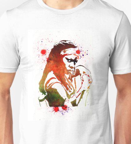 Walking Dead Michonne Stencil Style Unisex T-Shirt