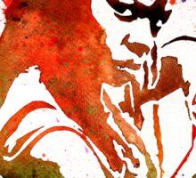 Walking Dead Michonne Stencil Style Sticker
