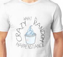 """""""Crazy Random Happenstance"""" Dr Horrible Unisex T-Shirt"""
