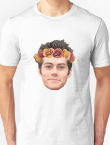 Dylan O'Brian Flower Crown Unisex T-Shirt