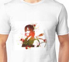 Walking Dead Daryl Dixon Stencil Style Unisex T-Shirt