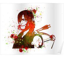 Walking Dead Daryl Dixon Stencil Style Poster