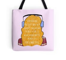 "Eleanor and Park - ""Art"" Quote Tote Bag"