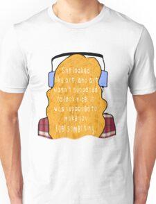 "Eleanor and Park - ""Art"" Quote Unisex T-Shirt"