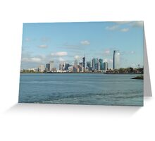 New York Days Greeting Card