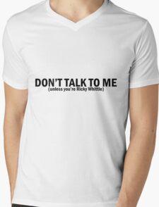 Ricky Whittle | Don't Talk To Me Mens V-Neck T-Shirt
