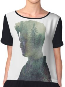 Magnus - Shadowhunters - Forest Chiffon Top